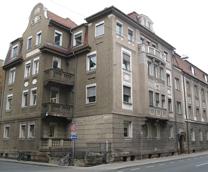Hauptgebäude und Sitz des Lehrstuhls